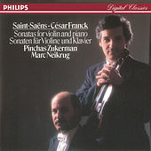 Play & Download Franck: Violin Sonata//Saint-Saëns: Violin Sonata No.1 by Pinchas Zukerman | Napster