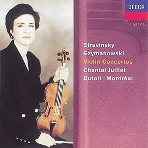 Play & Download Stravinsky: Violin Concerto//Szymanowski: Violin Concertos Nos. 1 & 2 by Chantal Juillet | Napster