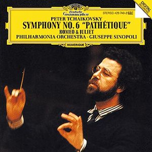 Tchaikovsky: Symphony No.6 'Pathétique'; Romeo and Julia - Fantasy Overture by Philharmonia Orchestra