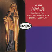 Play & Download Verdi: Four Sacred Pieces; Pater Noster by Choir of King's College, Cambridge | Napster
