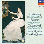 Tchaikovsky: String Quartet No.1 / Borodin: String Quartet No.2 / Shostakovich: String Quartet No.8 by Various Artists