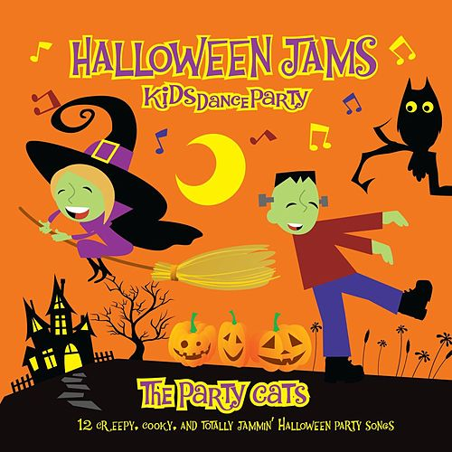 Kids Dance Party: Halloween Jams by The Party Cats