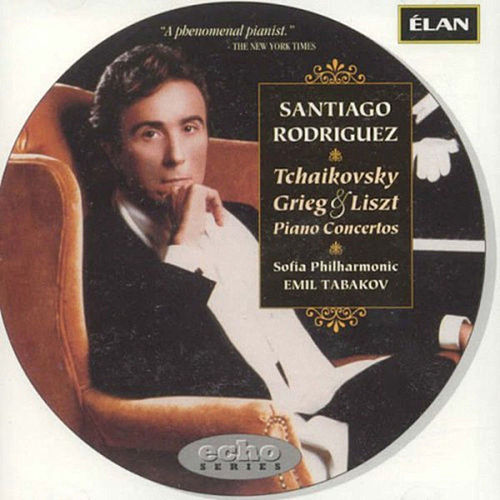Tchaikovsky, Grieg, and Liszt Piano Concertos by Santiago Rodriguez