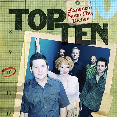 Play & Download Top Ten by Sixpence None the Richer | Napster
