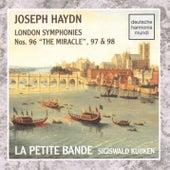 Haydn: Sym. 96, 97, 98 von Sigiswald Kuijken