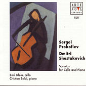 Shostakovich/Prokofiev: Music For Cello And Piano by Emil Klein
