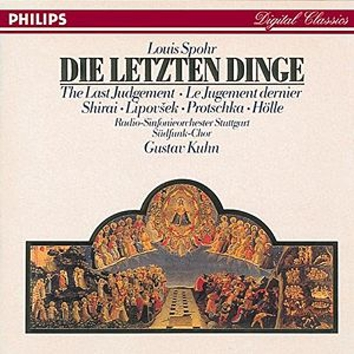 Play & Download Spohr: Die letzten Dinge by Various Artists | Napster