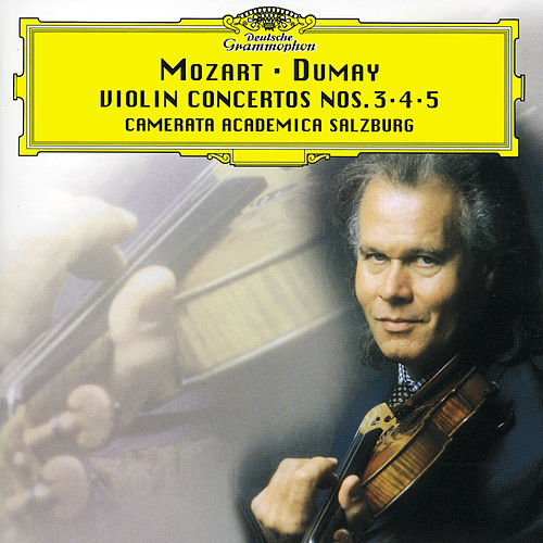 Play & Download Mozart: Violin Concertos Nos.3-5 by Augustin Dumay | Napster
