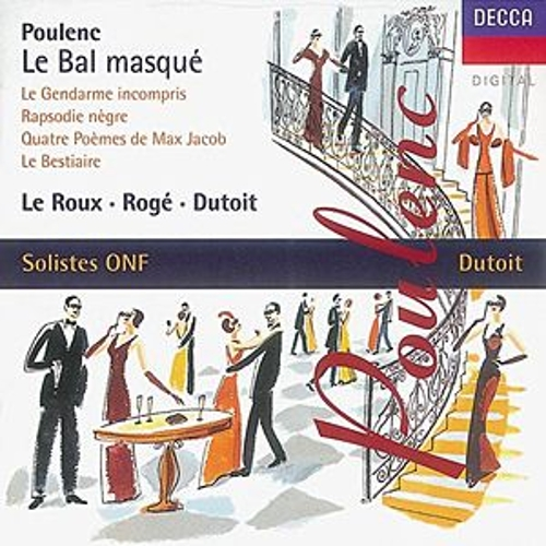 Play & Download Poulenc: Le bal masqué/Chamber Works by Various Artists | Napster