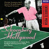 Schoenberg In Hollywood by Various Artists