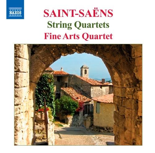 Saint-Saens: String Quartets Nos. 1 & 2 by Fine Arts Quartet