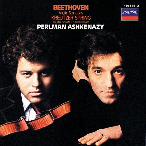 Beethoven: Violin Sonatas Nos.5 ('Spring') & 9 'Kreutzer') by Itzhak Perlman