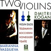 Violin Duo Recital: Kogan, Dmitri / Vassilieva, Marianna - Telemann, G.P. / Boccherini, L. / Honegger, A. / Ysaye, E. (Two Violins) by Various Artists