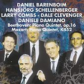 Play & Download Mozart & Beethoven : Piano & Wind Quintets by Daniel Barenboim | Napster