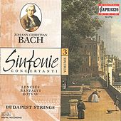 Play & Download Bach, J.C.: Sinfonie Concertanti, Vol. 3 by Various Artists | Napster
