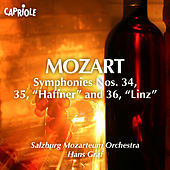 Mozart, W.A.: Symphonies Nos. 34-36 by Hans Graf