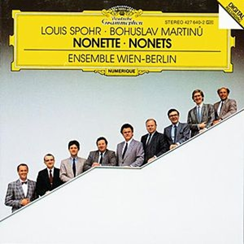 Spohr: Nonetto In F Major, Op. 31 / Martinu: Nonetto (1959) by Wolfgang Schulz