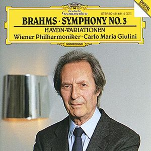 Play & Download Brahms: Symphony No.3; Haydn-Variations by Wiener Philharmoniker   Napster