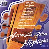 Acoustic guitar highlights (Volume 1) by Various Artists