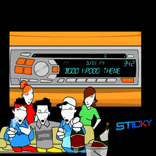 Play & Download Booo Krooo Theme by Sticky | Napster