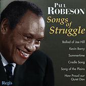 Songs of Struggle (& More) by Paul Robeson