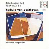 Beethoven: String Quartets Vol. 5 by Alexander String Quartet