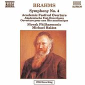 Play & Download Brahms: Symphony No. 4 / Academic Festival Overture by Michael Halasz | Napster