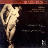 Cello Recital: Prieto, Carlos Miguel - Piazzolla, A. / Ginastera, A. / Villa-Lobos, H. / Ibarra, F. / Rodriguez, R.X. / Enriquez, M. by Various Artists