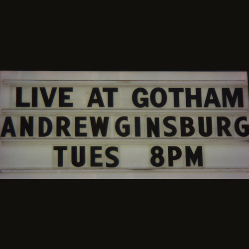 Play & Download Live At Gotham by Andrew Ginsburg | Napster