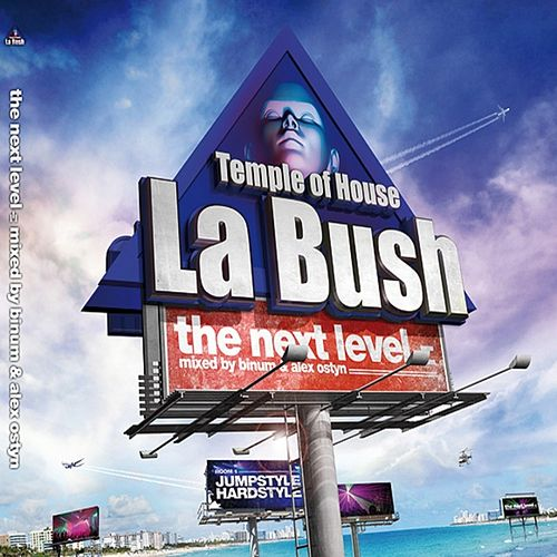 Play & Download La Bush Temple of House (The Next Level mixed by Binym and Alex Ostyn) by Various Artists | Napster
