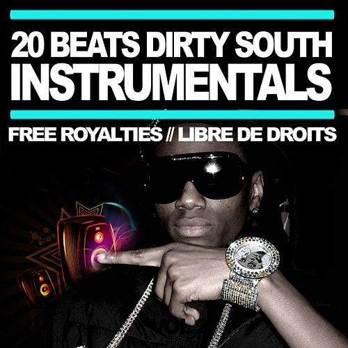 20 instrumentals  Dirty South & Crunk (Beats Hip Hop & RnB Free Royalty, Libre de Droit 2010) by Master Hit