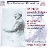 Bartok: Concerto for Orchestra / Mussorgsky: Pictures at an Exhibition (Koussevitzky) (1943-1944) by Sergey Koussevitzky