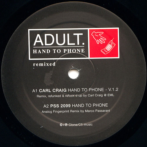 Play & Download Hand to Phone Remixed by Adult | Napster