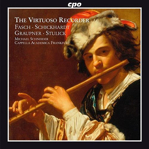 Virtuoso Recorder: Concertos of the German Baroque by Various Artists