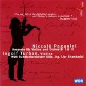 Paganini: Violin Concertos Nos. 1 & 3 by Various Artists