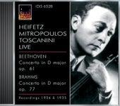 Play & Download Beethoven, L. Van: Violin Concerto, Op. 61 / Brahms, J.: Violin Concerto, Op. 77 (Heifetz) (1935, 1956) by Jascha Heifetz | Napster