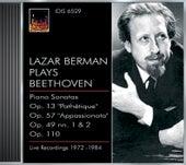 Play & Download Beethoven, L. Van: Piano Sonatas Nos. 8, 19, 23 and 31 (Berman) (1972-1984) by Lazar Berman | Napster