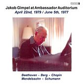 Jakob Gimpel at Ambassador Auditorium, Vol. 3 (1979, 1977) by Jakob Gimpel