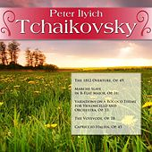 Play & Download Peter Ilyich Tchaikovsky: The 1812 Overture, Op. 49; Marche Slave in B-Flat Major, Op. 31; Variations on a Rococo Theme for Violoncello and Orchestra, Op. 33; The Voyevode, Op. 78; Capriccio Italien, Op. 45 by Various Artists | Napster
