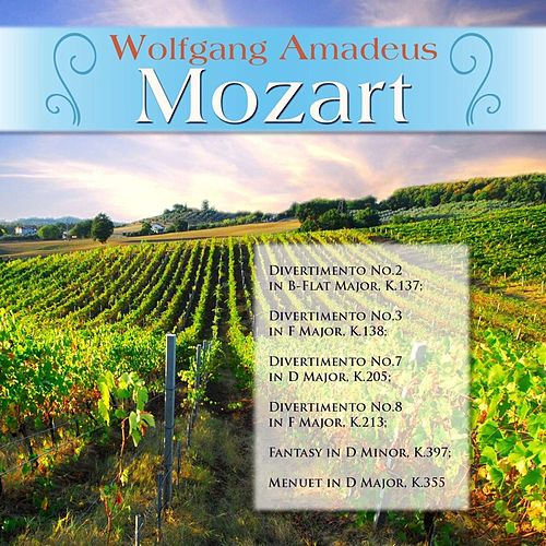 Play & Download Wolfgang Amadeus Mozart: Divertimento No.2 in B-Flat Major, K.137; Divertimento No.3 in F Major, K.138; Divertimento No.7 in D Major, K.205; Divertimento No.8 in F Major, K.213; Fantasy in D Minor, K.397; Menuet in D Major, K.355 by Various Artists | Napster