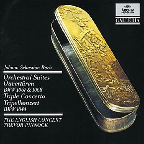 Bach: Orchestral Suites (Overtures) BWV 1067 & 1068 / Triple Concerto by Various Artists
