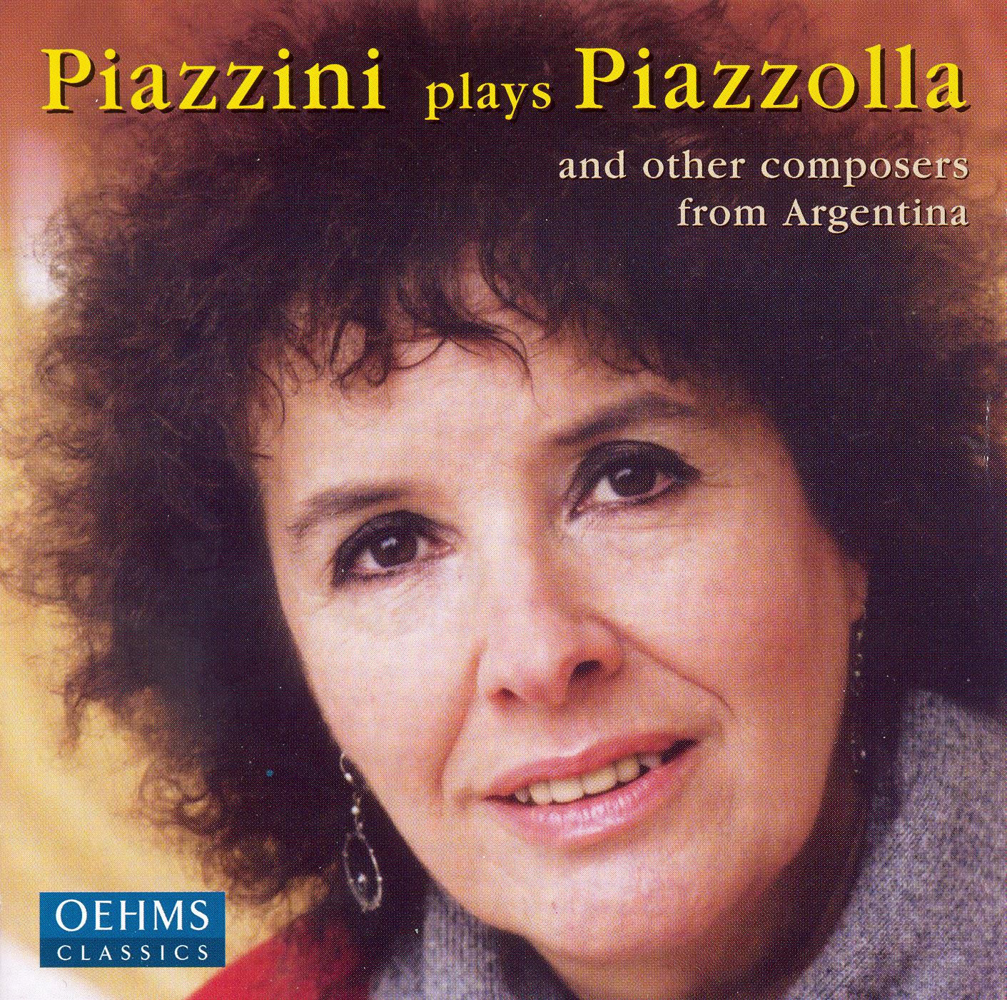 Piazzolla: Retrato De Alfredo Gobbi / Guastavino: Bailecito / Fontenla: Atardecer En La Sierra / Ginastera: 3 Danzas Argentinas by Carmen Piazzini