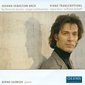 Play & Download Bach, J.S.: Piano Transcriptions by Busoni, Rachmaninov, Kempff and Hess by Bernd Glemser | Napster