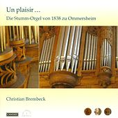 Play & Download Organ Recital: Brembeck, Christian - Aichinger, G. / Tayler, M.J. / Handel, G.F. / Bach, J.S. / Silbermann, J.H. / Seixas, C. De / Corrette, M. by Christian Brembeck | Napster
