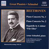 Play & Download Beethoven: Piano Concertos Nos. 1 and 2 (Schnabel) (1932, 1935) by Artur Schnabel | Napster