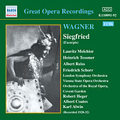 Wagner, R.: Siegfried (Ring Cycle 3) (Excerpts) (Melchior, Tessmer) (1929-1932) by Various Artists