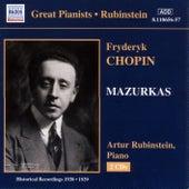 Play & Download Chopin: Mazurkas (Rubinstein) (1938-1939) by Arthur Rubinstein | Napster