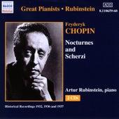 Play & Download Chopin: Nocturnes and Scherzi (Rubinstein) (1936-1937) by Arthur Rubinstein | Napster