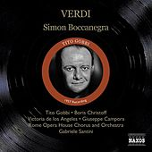 Verdi, G.: Simon Boccanegra (Gobbi, Christoff, Los Angeles, Santini) (1957) by Various Artists