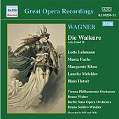 Play & Download Wagner, R.: Walkure (Die), Acts I and Ii (Ring Cycle 2) (Bruno Walter) (1938) by Various Artists | Napster